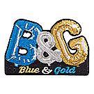 2018 BSA® Blue & Gold Mylar Balloon Emblem