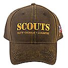 Scouts Duty, Honor, and Country Twill Cap