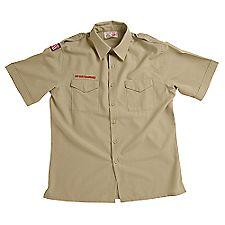 Boy Scout™ Men's Short-Sleeve Polyester/Wool Shirt