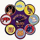 Wood Badge Jumbo 8 in 1 Emblem