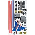 Raingutter Regatta Decals - Wind Racer