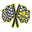 Pinewood Derby® Flags Emblem Pin
