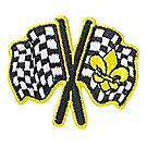 Pinewood Derby® Flags Emblem Pin