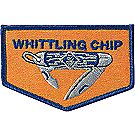 Whittling Chip Emblem