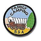 Family Camping Emblem
