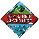 National High Adventure Hat Pin