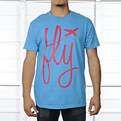 Mens Airplane Fly Tee