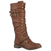 Women's Soldier Knee-High Boot