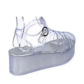 5292bc1a567 Nature Breeze Disco-01 Women s Clear Platform Sandal