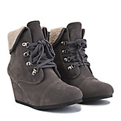 Buy Women's Wedge Boots | Cheap Boots with Wedges at Shiekh Shoes