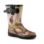 Kids Horse II Rain Boot