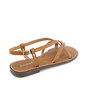ccbb4b359a8f7 Bamboo Cable-03 womens flat thong strappy sandal. PreviousNext