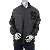 Mens King of the Crowd Letterman Jacket