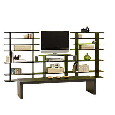 Picture of 9' Wide 2-Tier Media Console