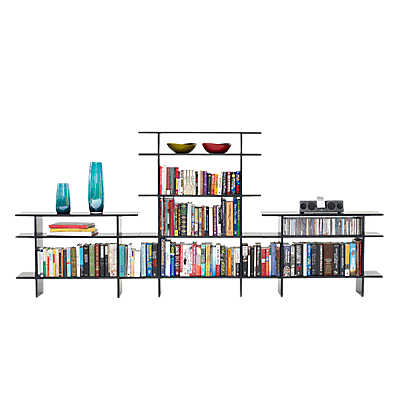 Picture of 9' Wide 2-Tier Bookshelf
