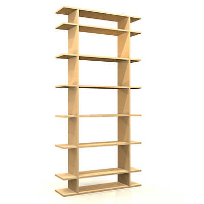 Picture of 3' Wide Classic Bookshelf