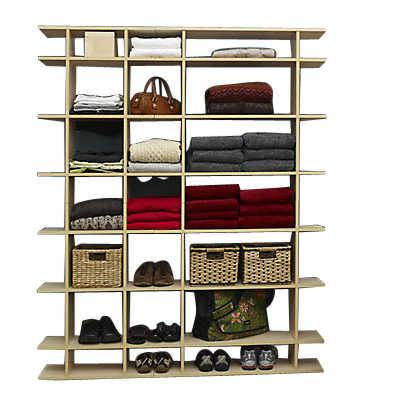 Picture of 5' Wide Closet Storage Shelf