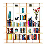 Picture of 6' Wide Bookshelf 0606f007