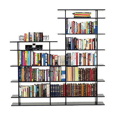 Picture of 6' Wide 2-Tier Bookshelf