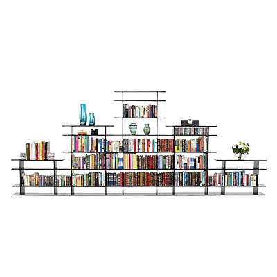 Picture of 15' Wide Bookshelf 0615s016