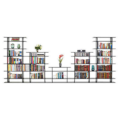 Picture of 15' Wide Bookshelf 0615s017