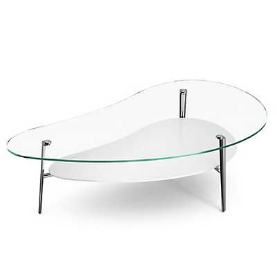 Picture of Comma Coffee Table, Polished Legs