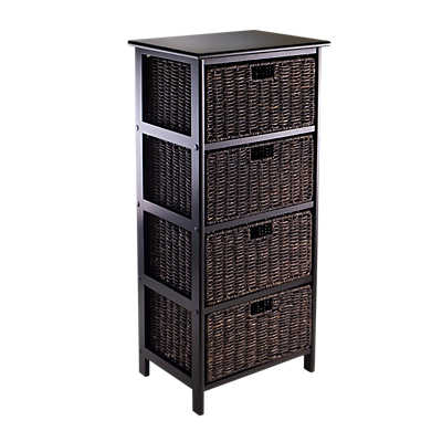 Picture of Four-Tier Storage Rack with 4 Baskets
