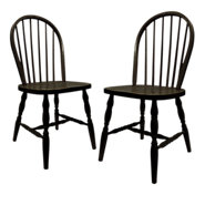 Picture of Dining Chairs with Turned Legs, Set of 2