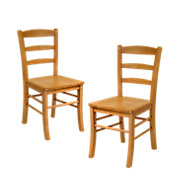 Picture of Ladder Back Dining Chairs, Set of 2
