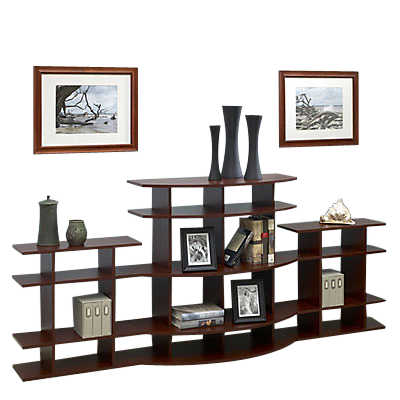 Picture of 7' Wide Arc Display Shelf 3A0307s001