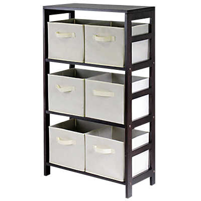 Picture of Three Tier Storage Shelf with Baskets