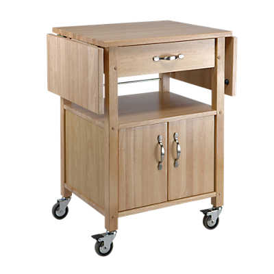 Picture of Kitchen Cart with Double Drop Leaves