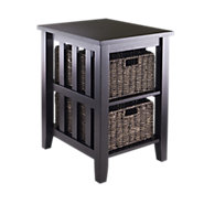 Picture of Side Table with 2 Baskets