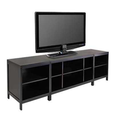 Picture of 3-Piece TV Stand with 2 Media Shelves