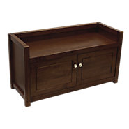 Picture of Storage Bench with Doors