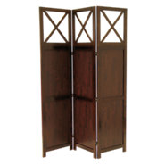 Picture of 3-Panel Folding Screen with Windows