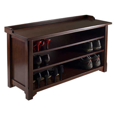 Picture of Shoe Storage Bench with Shelves