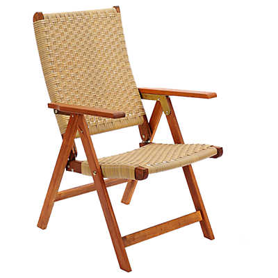 Picture of Poly Weave Folding Chair
