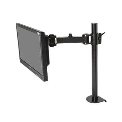 Picture of Single Monitor Arm, Clamp Base