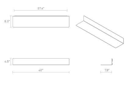 Welf Shelf Large Dimensions