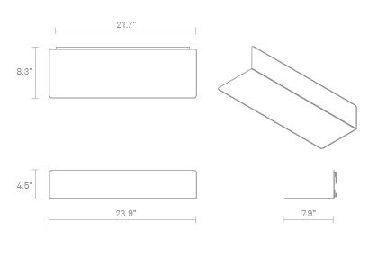 Welf Shelf Small Dimensions