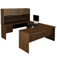 Picture of Oxford U-Shaped Desk with Hutch