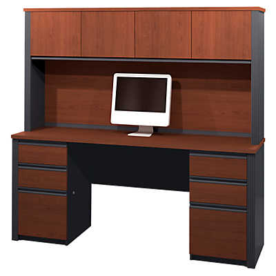 Picture of Slimline Credenza with Hutch