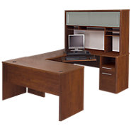 Picture of Oceanview U-Shaped Desk with Hutch