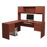 Picture of Classic Collection L-Shaped Workstation