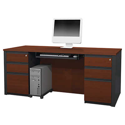 Picture of Slimline Two-Pedestal Desk