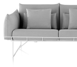 Wireframe Loveseat