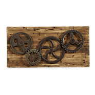Picture of Industrial Gears Wall Decor
