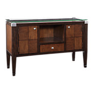 Picture of Dunhill Oak Parquet Server Buffet