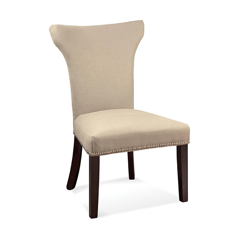 Picture of Nelson Shaped Nailhead Parsons Chair